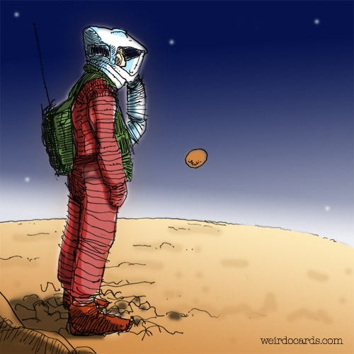 Space Oddity eCard