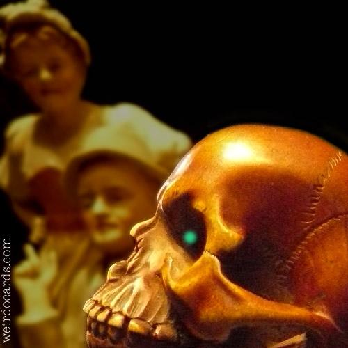 Halloween Skull eCard