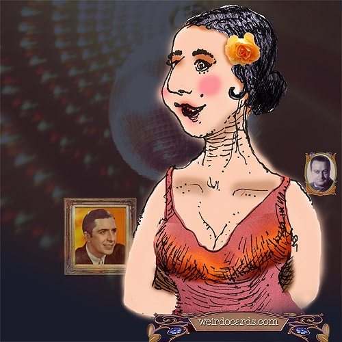 Tango y Milonga Dancer eCard