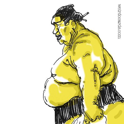 Sumo Wrestler eCard