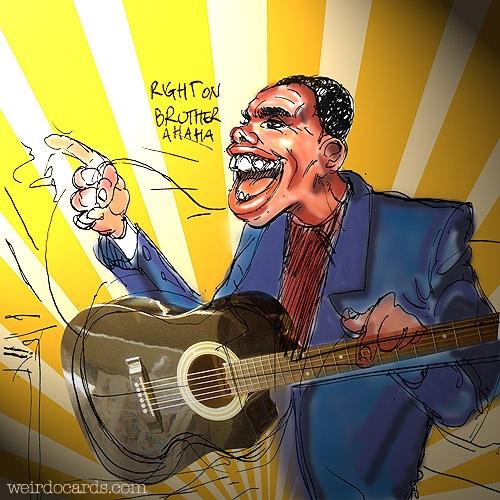 The Blues Singer eCard