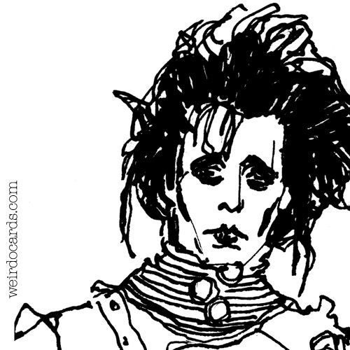 Edward Scissorhands eCard