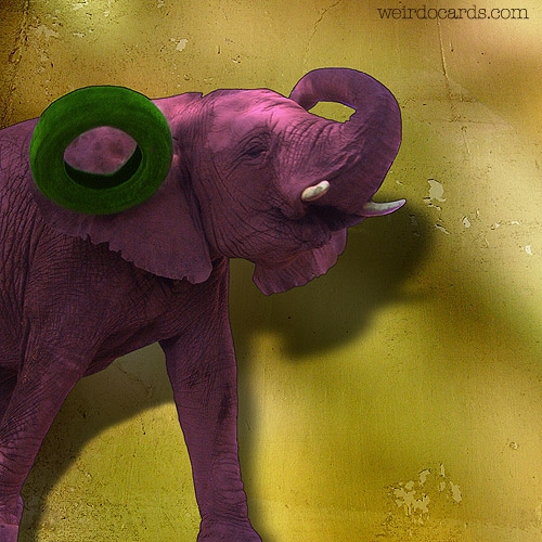 Pink Elephant eCard