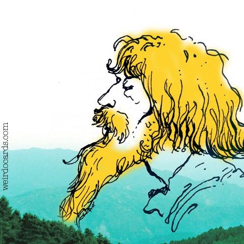 Bearded Zen Guru eCard