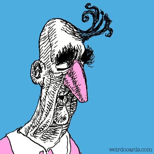 Mister Pinky Nose eCard