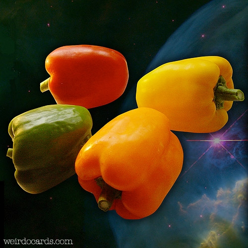 Red Hot Cosmic Peppers eCard