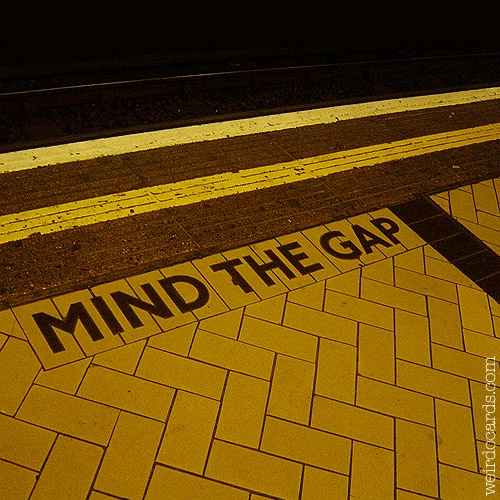 Mind The Gap eCard