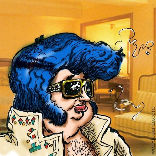 Elvis Impersonator eCard